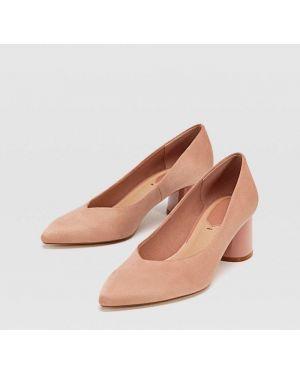 Туфли на каблуке на среднем каблуке Stradivarius