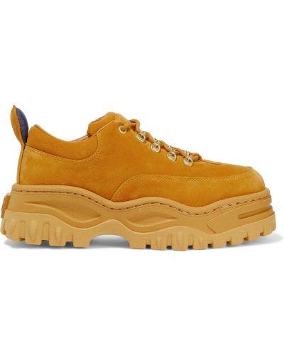Кожаные кроссовки Eytys