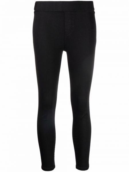 Укороченные брюки - черные 3x1