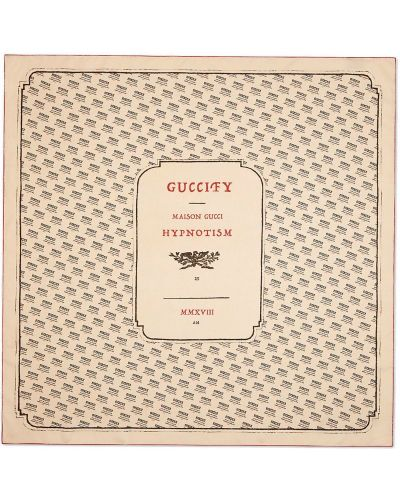 Платок итальянский из шелка Gucci