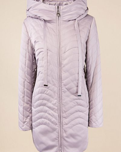Бежевая утепленная куртка на молнии Alyaska