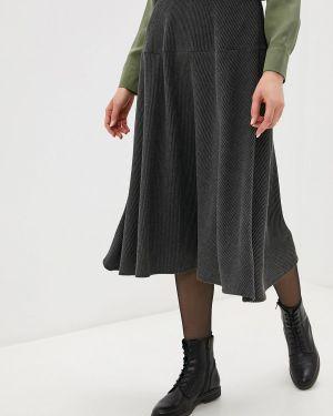 Платье осеннее серое Adl