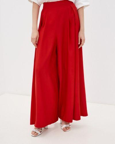 Повседневные красные брюки Naf Naf