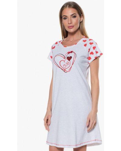 Платье - серое Vienetta