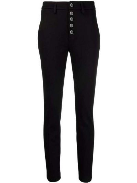Czarne spodnie Dondup