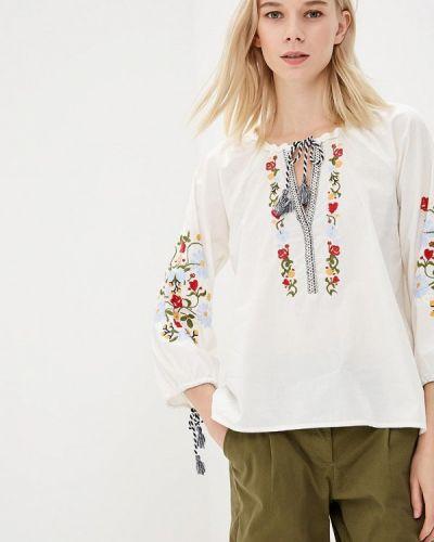 Белая блузка Tom Tailor Denim