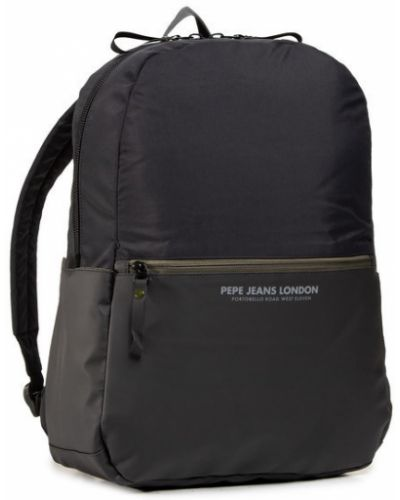 Czarny plecak na laptopa Pepe Jeans