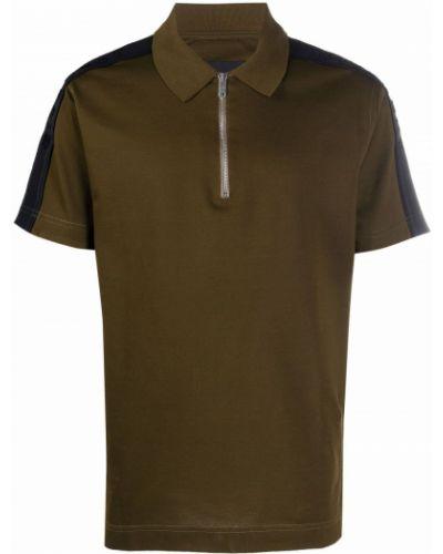 Koszula krótki rękaw - zielona Givenchy