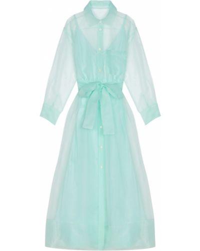 Платье миди платье-комбинация на пуговицах Maje