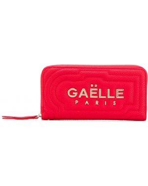 Кошелек на молнии - красный Gaelle Bonheur