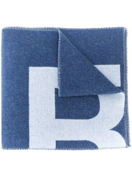 Niebieski szalik wełniany Isabel Marant
