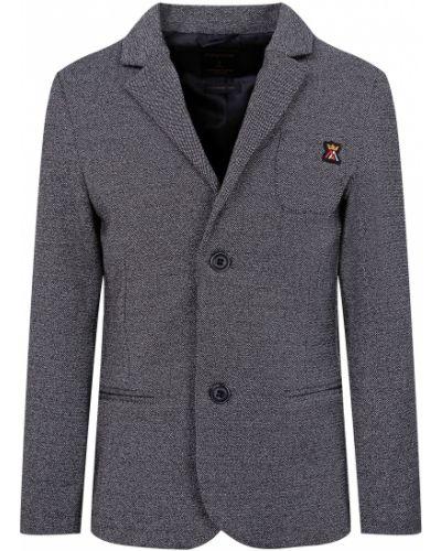 Хлопковый серый пиджак Mayoral