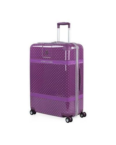 Fioletowa walizka oversize Victorio Y Lucchino