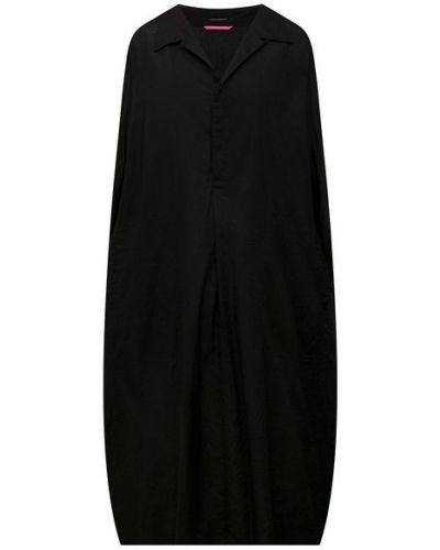 Хлопковое платье - черное Y`s