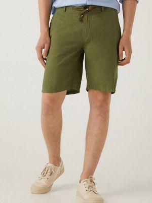 Повседневные зеленые шорты Springfield