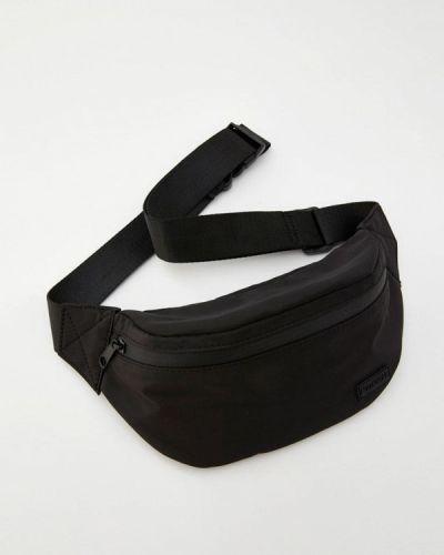 Поясная сумка черная Pull&bear