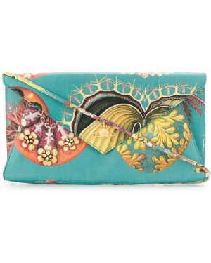 Синяя кожаная сумка Vivienne Westwood Pre-owned