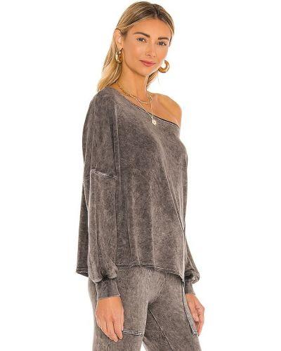 Włókienniczy pulower z mankietami z dekoltem Lovers + Friends