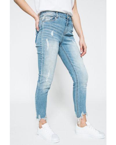 Синие джинсы-скинни Jacqueline De Yong