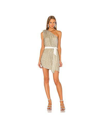 Платье с поясом винтажная на молнии Retrofete