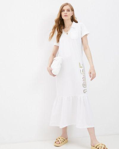 Белое спортивное платье Liu Jo Sport