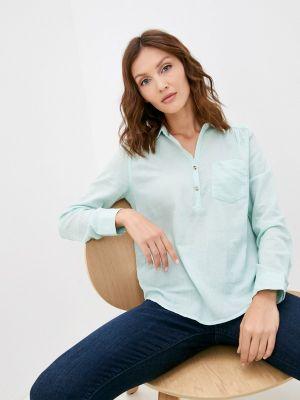 Рубашка с длинным рукавом - бирюзовая Colin's