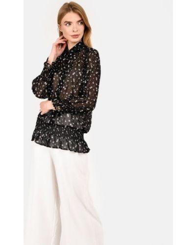Блузка с длинными рукавами - черная Co'couture