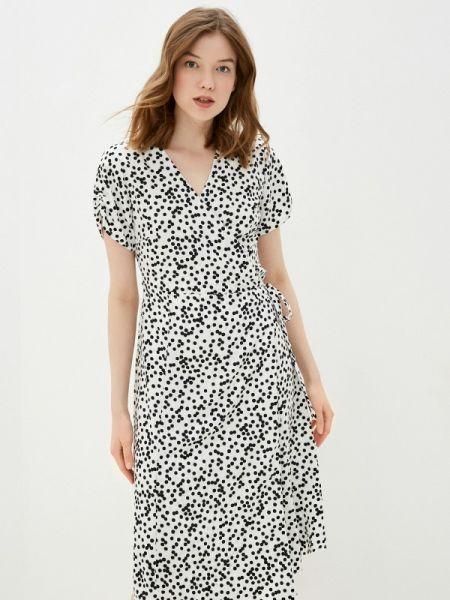 Платье с запахом весеннее Sela