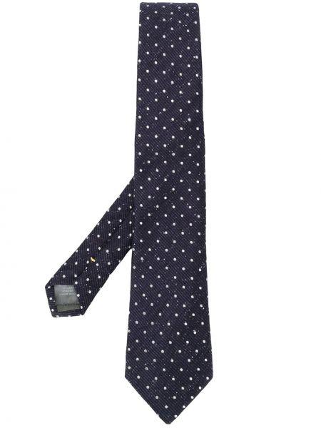 Синий галстук Canali