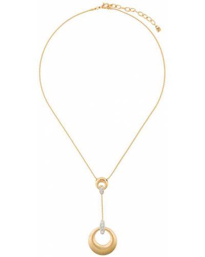 Кулон желтый золотой Nina Ricci Pre-owned
