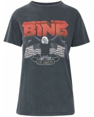 Czarna t-shirt vintage Anine Bing