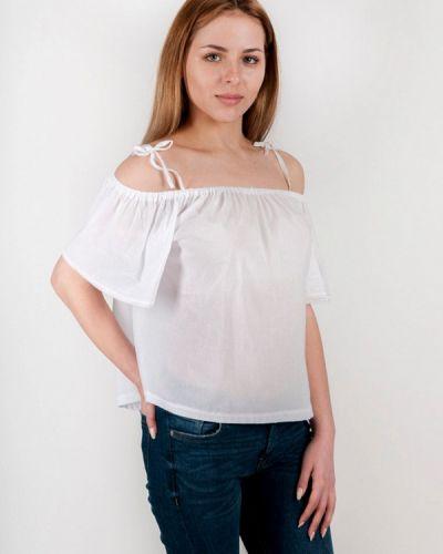 Белая блузка Vergans