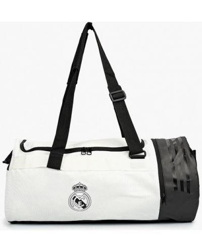 Белая спортивная сумка Adidas
