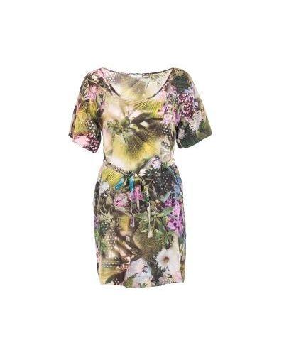 Платье с цветочным принтом Paul Smith