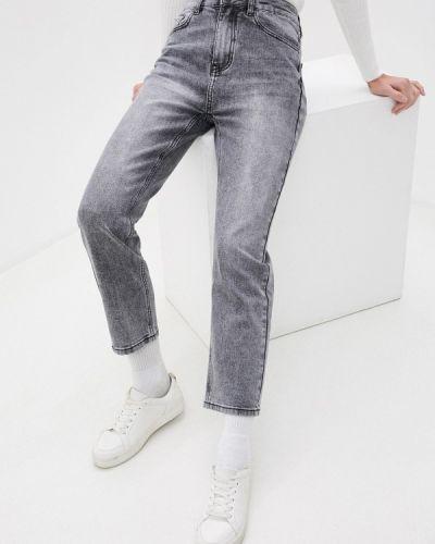 Прямые серые джинсы Baon