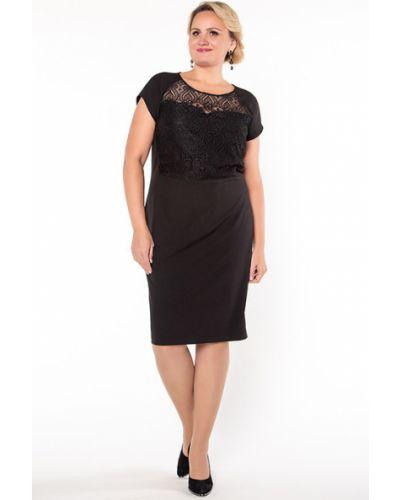 Кружевное платье - черное Virgi Style