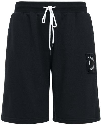 Czarne szorty bawełniane Puma Select