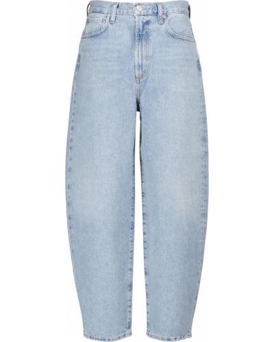 Хлопковые джинсы - синие Agolde