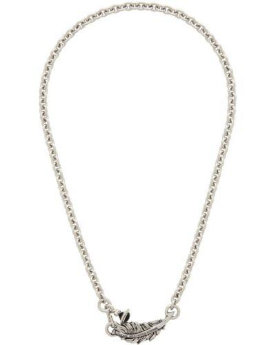 Серебряное ожерелье на крючках Vivienne Westwood