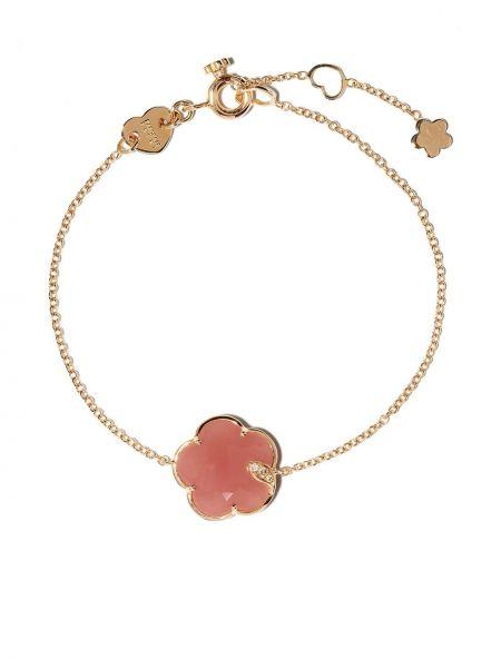 Белый золотой браслет с бриллиантом Pasquale Bruni