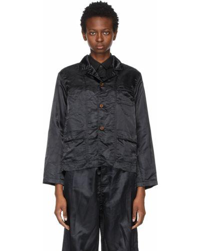 Черная куртка длинная Comme Des Garçons Comme Des Garçons