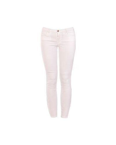 Белые джинсы-скинни Emilio Pucci