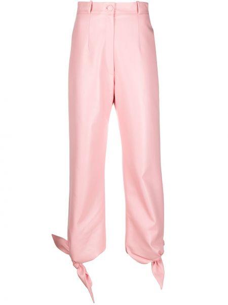 Spodnie z wysokim stanem z kieszeniami z paskiem Materiel