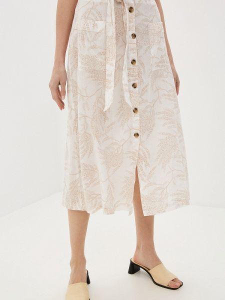 Бежевая юбка Marks & Spencer