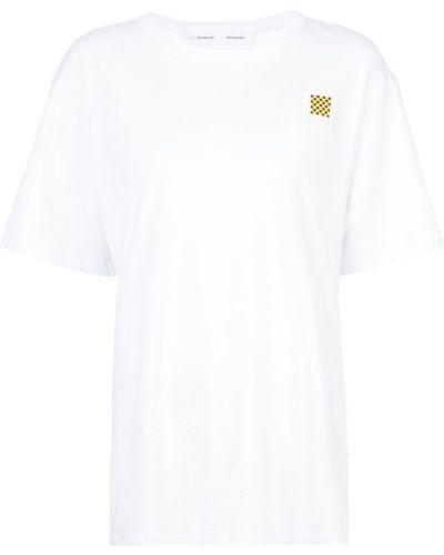 футболка 'PSWL' с принтом Proenza Schouler