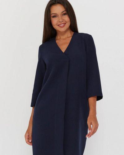 Повседневное синее повседневное платье A.karina