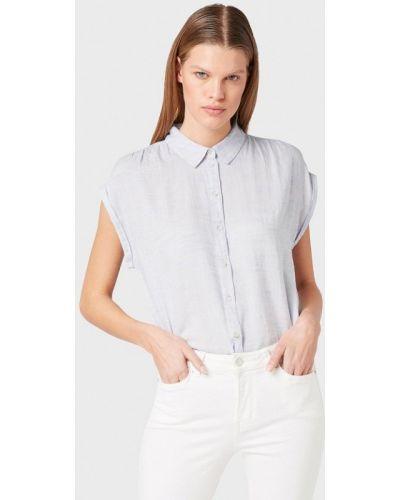 Джинсовая рубашка с коротким рукавом индийский Tom Tailor Denim