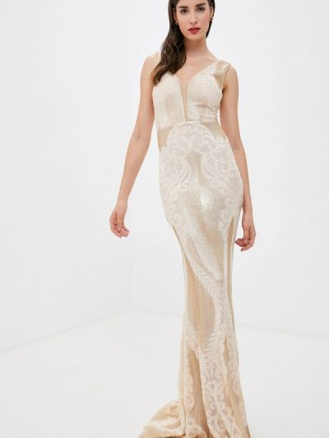Свадебное платье золотое Soky & Soka