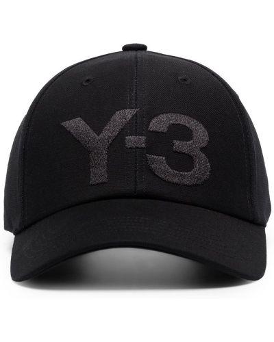 Baseball bawełna bawełna czarny czapka z daszkiem Y-3
