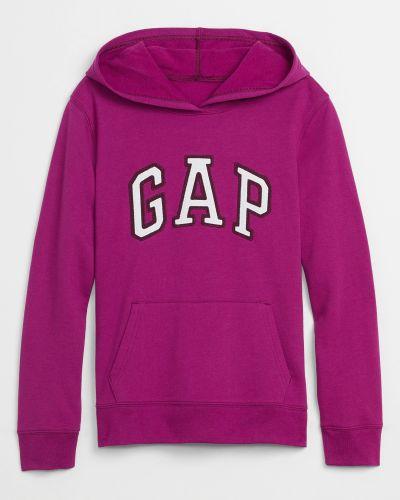 Флисовое худи - фиолетовое Gap